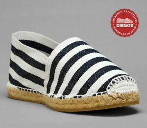 Authentic sailor stripes espadrilles | Handmade in Spain | for men and women