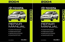 2004 Toyota Echo Shop Service Repair Manual Book Engine Drivetrain OEM