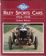 Riley Sports Cars 1926-1938 by Robson inc. ERA Healey Racing Restoration +