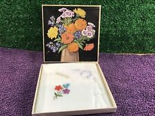 More details for ladies hankerchiefs x 3 irish made boxed vintage retro collectable