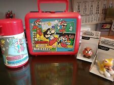 Nintendo Super Mario Bros Lunchbox And Thermos 1988. And more!