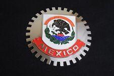 Mexico Grille Badge Bumper License Topper Accessory Chrysler Rat Rod Mopar
