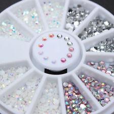 Nail Jelly Resin Rhinestone Flatback Gems 3D Nail Art Decoration Manicure DIY