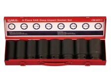 "Genius Tools 8PC 3/4"" Dr. SAE Deep Impact Socket Set (CR-Mo) - CM-023-1"