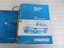 1994 Mazda MPV Service Repair Manual OEM Factory Dealership Workshop Set
