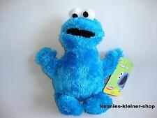 """Sesamstrasse """"Krümelmonster"""" Stoff-Figur Cookie Monster Sesame Street Stofftier"""