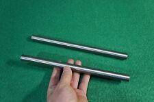 """16mm Dia Titanium 6al-4v round bar .629"""" x 10"""" Ti Grade 5 rod Solid Metal 2pcs"""
