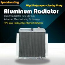 3ROW Aluminum Radiator For Chevrolet Chevy Truck Pickup 3100 3500 3800 V8 55-59