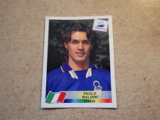 FOOTBALL PANINI STICKER FRANCE 98 WORLD CUP DANONE / Paolo Maldini ITALIA (92)
