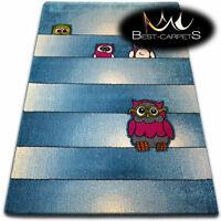 Soft Carpets Bedroom Boys Girls Thick Children Rug /'KIDS/' ROBOTS FUN Rugs LARGE