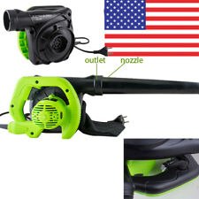 600W Electric Handheld Leaf Blower with Vacuum Shredder Super Leaf Blower