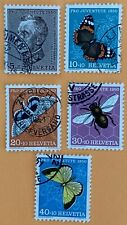 Switzerland 1950 Pro Juventute Stamps Used