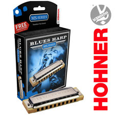 Hohner Blues Harp MS-Series 532BX-D Key of D Harmonica Made In Germany