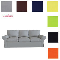 Custom Made Cover Fits IKEA EKTORP 3.5 Seat Sofa, Replace 3.5 Seater Sofa Cover