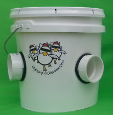 Automatic Chicken Feeder - 2 Gallon - Poop-Free