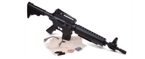 Crosman Kit (Black)Tactical Bolt Action Variable Pump Air Rifle with M4177KT