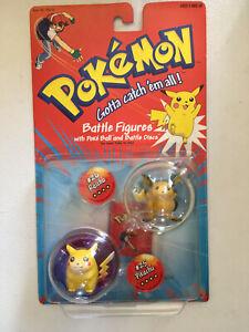 Pokemon Battle Figures - Raichu, Pikachu