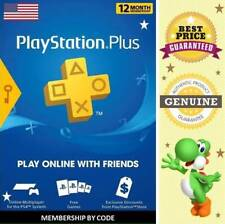 Play Station Plus 12 Months PS3 - PS4 - PS5 - PS VITA Key Code 🔑 Region USA ✔
