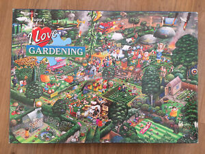 Gibson's I Love Gardening  1000 piece jigsaw puzzle Completed