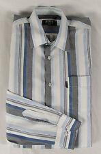 Gestreifte klassische HUGO BOSS Herrenhemden mit Sportmanschette