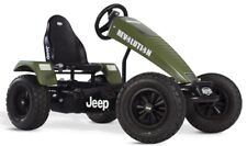 Berg Jeep Revolution E-Bfr Kids 24V Electric Battery Pedal Car Go Kart Green