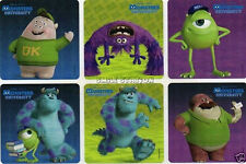 12 Monsters University Inc Stickers Kid Party Goody Loot Bag Filler Favor Supply