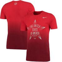 Nike Men's Team USA Star Verbiage T-Shirt - Red