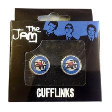 The Jam Glass Lens Front Mod Target OFFICIAL Cufflinks Mens Gift Wedding