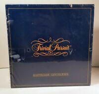 Vintage NEW 1981 Trivial Pursuit Genus Edition Master Game Sealed