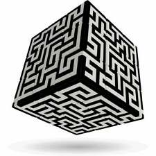 V-Cube Labyrinthe-Magique Cube Rubik's Cube-Neuf & neuf dans sa boîte
