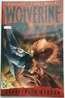 Wolverine: Sabretooth Reborn Graphic Novel GN TPB Marvel Jeph Loeb Bianchi New
