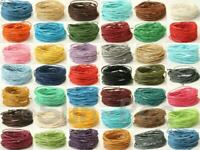 Coated Colour HEMP String Cord Smooth Twine 1mm Jewelry Macrame Crafts Knotting