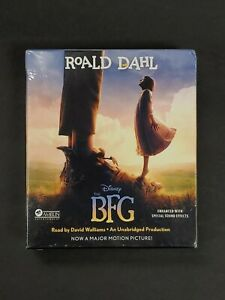 The BFG by Roald Dahl (2016, CD, Movie Tie-In, Unabridged) NEW