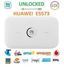 New Unlocked Huawei E5573 4G/4GX WIFI Modem/Broadband (Best for Overseas Travel)