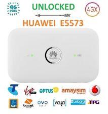 New UNLOCKED HUAWEI E5573 4G/4GX WIFI MOBILE MODEM/BROADBAND+DUAL ANTENNA PORT