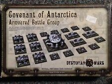 Dystopian Wars Covenant Of  Antarctica Armoured Battle Group Spartan Games New