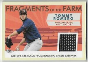 2019 Topps Pro Debut Fragments of the Farm Relic #FOFBGR Tommy Romero - Rays