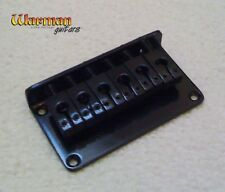 Hardtail satin black quality guitar bridge