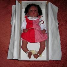 "Jasmine Goes to Grandmas Doll-Waltraud Hanl-22"" African American Doll-NEW in Box"
