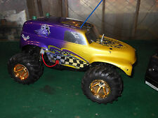 VINTAGE KYOSHO OUTRAGE ST STADIUM TRUCK w'KyoshoWheels Ready To Run Speed Contro