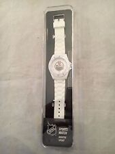 Edmonton Oilers NEW Adult Sports Watch by Sparo . NHL Hockey Wrist Fan Gift OSFM