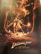 Indiana Jones Poster Rich Kelly VARIANT Raiders Lost Arc Well Of Souls Print #d