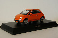 KYOSHO~ FIAT 500 (O) ~ 1/64 Scale Minicar Collection (Free Shipping)