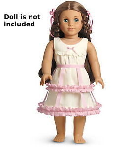 "NEW AMERICAN GIRL Crinoline & Chemise Undergarment for 18"" Marie Grace Addy Doll"