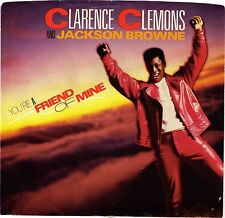 CLEMONS, Clarence; & BROWNE, J.  (You're A Friend Of Mine)  Col 38-05660=PS ONLY
