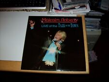 MALCOLM ROBERTS - LIVE AT THE TALK OF THE TOWN, 1974, 11 TRACKS (BUK/DECCA LP)