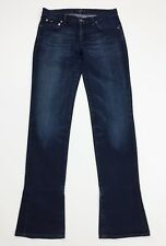 Gas jeans donna usato bootcut zampa svasati denim w29 tg 43 vintage retro T4390