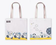 KIRBY CAFE Cotton Canvas Tote Bag Official Limited Rare Japan Hoshi no Kirby NEW