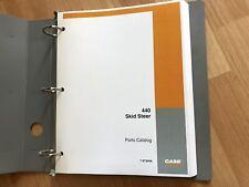 Case 440 Skid Steer Loader Factory Parts Catalog Manual Unused Oem