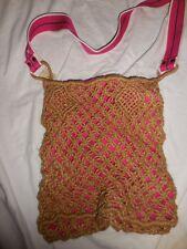 nwt American Eagle  boho macrame cross body shoulder bag  free ship USA